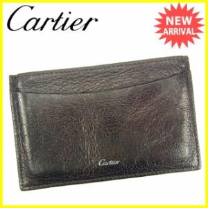 7b1a996d4836 カルティエ Cartier 名刺入れ カードケース 【中古】 Y5225