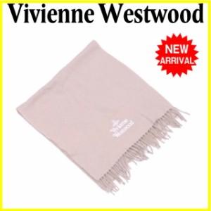 ヴィヴィアン ウエストウッド Vivienne Westwood マフラー フリンジ付き メンズ可 オーブ [中古] 人気 セール L1500
