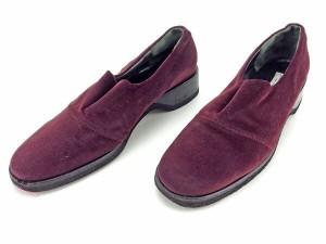 ブルーノマリ BRUNOMAGLI シューズ 靴 レディース ♯38 ラウンドトゥ良品 セール【中古】 Y3912