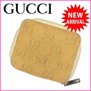 グッチ Gucci コインケース GG柄 レディース 中古 C878