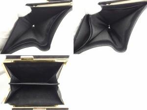 ピンキー&ダイアン Francesco Biasia 財布 がま口財布 レディース 中古 Q150
