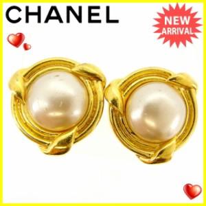 シャネル Chanel イヤリング パール レディース 中古 Q321
