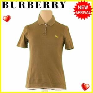 f96d3507abfdd3 バーバリー BURBERRY ポロシャツ 服 レディース ホース刺繍 【中古】 L2239
