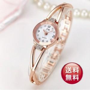【ランキング1位】【ベルト調整できます】jwクロスライン ブレスレット レディースファッション腕時計  新品予備電池サービス ストーン