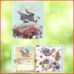 サンスター文具(S2801060)ディズニー クラシック アート コレクション スティックマーカー 付箋(Dumbo/