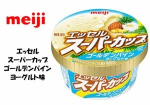 明治アイス エッセル スーパーカップ ゴールデンパインヨーグルト味 100ml×24個 アイスクリーム送料無料(北海道・九州は除く沖縄離