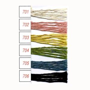 春夏毛糸 『FLAX≪Tweed≫ フラックスTw 701番色』 手編み 編物 毛糸 Hamanaka ハマナカ