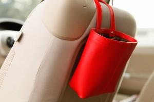 上質な日本製 掛けられるゴミ箱「DATTY」【ゴミ入れ 車 ダストボックス トイレ 洗面 おしゃれ 車内 クリップ キッチン ゴミ 箱 小物入れ