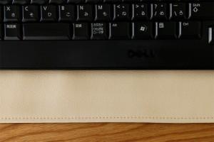 上質な日本製 キーボードカバー「LEKEY」【キーボード カバー PCカバー パソコン mac nec フリー レザー デスクトップ アクセサリー キー