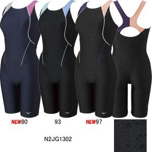 ミズノ(MIZUNO)女性用 フィットネス水着 STROKE ONE ウイメンズオールインワン N2JG1302