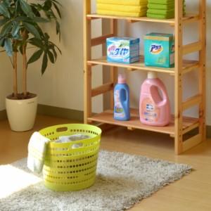 【ランドリーバスケット(小)】ランドリー バスケット 洗濯 かご 脱衣所 メッシュ 通気性 丸型 軟質 やわらか 収納 洗濯物 プラスチック