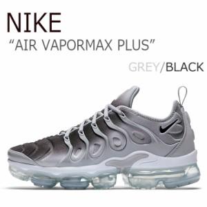 ナイキ スニーカー NIKE メンズ  AIR VAPORMAX PLUS エア ベイパーマックス プラス GREY BLACK グレー ブラック 924453-007 シューズ