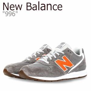 c81c2c12a60c2 ニューバランス 996 スニーカー New Balance メンズ レディース ニューバランス996 GRAY ORANGE グレー オレンジ  MRL996JD シューズ
