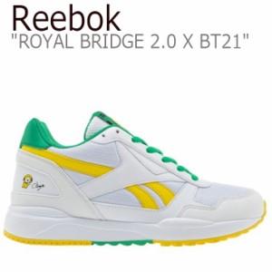 a6e7bc11094 リーボック ロイヤルブリッジ スニーカー REEBOK ROYAL BRIDGE ロイヤル ブリッジ 2.0 X BT21 CHIMMY DV8910  シューズ