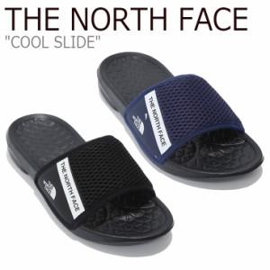 ノースフェイス サンダル THE NORTH FACE メンズ レディース COOL SLIDE クール スライド ネイビー ブラック NS98K22J/K シューズ