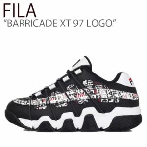 フィラ スニーカー FILA メンズ レディース BARRICADE XT 97 LOGO バリケードXT 97 ロゴ BLACK ブラック FS1HTB3514X シューズ