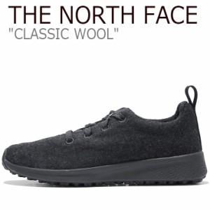 ノースフェイス スニーカー THE NORTH FACE メンズ レディース CLASSIC WOOL クラシック ウール BLACK ブラック NS93K63J シューズ