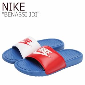 ナイキ サンダル NIKE メンズ BENASSI JDI ベナッシ BLUE ブルー 343880-415 シューズ