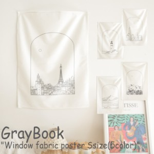 グレーブック ウィンドウポスター GrayBook Window fabric poster ウィンドウ ファブリックポスター タペストリー 5205879133 ACC