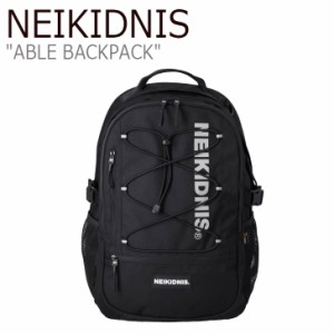 ネイキドニス リュック NEIKIDNIS メンズ レディース ABLE BACKPACK エイブル バックパック BLACK ブラック NB15ABG030 バッグ