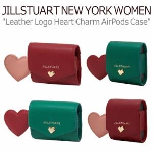 ジルスチュアート ニューヨーク ウーマン Leather Logo Heart Charm AirPodsPro/AirPods Case JAHO0F994R2/F995E2/F991E2/E448R2 ACC