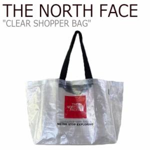 ノースフェイス エコバッグ THE NORTH FACE メンズ レディース CLEAR SHOPPER BAG クリア ショッパーバッグ NG2PM00A バッグ