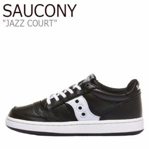 サッカニー スニーカー SAUCONY メンズ レディース JAZZ COURT ジャズ コート BLACK ブラック S70555-1 シューズ