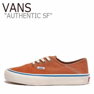 バンズ オーセンティック スニーカー VANS AUTHENTIC SF オーセンティック SF ORANGE オレンジ WHITE ホワイト VN0A3MU64UH シューズ