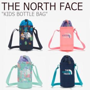 ノースフェイス クロスバッグ THE NORTH FACE KIDS BOTTLE BAG キッズ ボトルバック NAVY PINK GREEN NN2PM15R/S/T/U バッグ