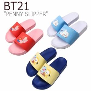 ビーティー21 サンダル BT21 メンズ レディース PENNY SLIPPER ペニー スリッパ PINK BLUE YELLOW 126719 シューズ