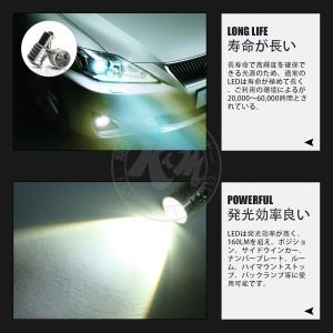DAIHATSU ムーブ H18.10〜H22.11 L175S・185S ルーム フロント 【T10】2個入り ☆CREE LED 5W 送料無料 1年保証 K&M