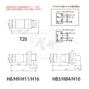 エルグランド H22.8〜H25.12 E52 ウインカー 前[T20ピンチ部違い]黄色 2個入り CREE LED T20 送料無料 6ヶ月保証 K&M
