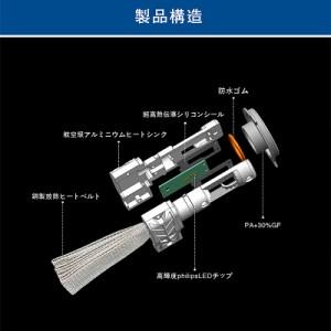 NISSAN デイズルークス H26.2〜 B21A - フォグランプ[H16]2個入り PHILIPS LED H16 ヒートリボン採用 送料無料 1年保証 K&M
