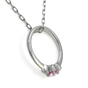 ピンクトルマリン・ベビーリング・赤ちゃん・指輪・10金・ネックレス xmas クリスマス