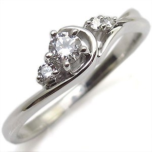 プラチナ・ダイヤモンド・リング・一粒・ダイアモンドリング・指輪 xmas クリスマス