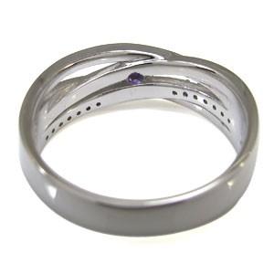 アメジスト・指輪・2月誕生石・一粒・10金・リング xmas クリスマス
