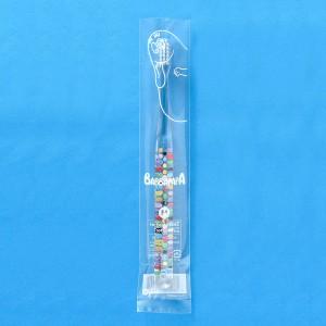 【メール便を選択で送料無料】Ci 702 バーバパパ(BARBAPAPA) 極薄ヘッド / Mふつう 4本入【Ciメディカル 歯ブラシ】