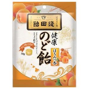 浅田飴 のど飴はちみつ杏 70g