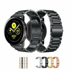 0d56a72cd530 Galaxy Watch Active用 交換バンド 高級ステンレス ベルト For ギャラクシーウォッチ Active 交換リストバンド