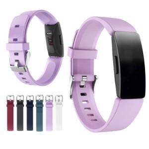 Fitbit Inspire2/Inspire/Inspire HR/Ace2 ベルト バンド 交換用 シリコン製 6色 Quick Release バンド  Sports(クイックリリースバンド