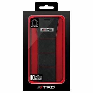 2d67192c05 【トヨタレーシングデベロップメント iPhone6専用本革手帳型ケース TRD-P47B4 1コ