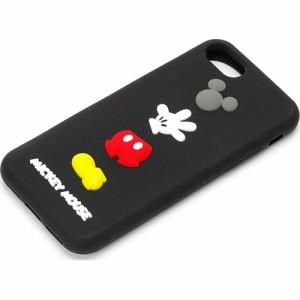 0b04d40368 10000円以上送料無料 iPhone7 シリコンケース ミッキーマウス PG-DCS143MKY(1コ