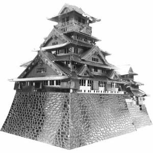 【メタリックナノパズル 大阪城 T-MP-007 1セット】[代引選択不可]