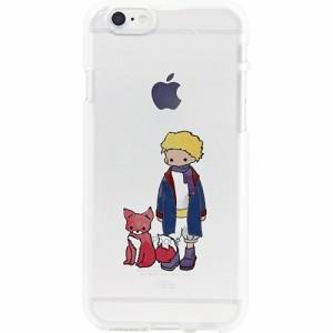 0da862cba5 【ディーパークス iPhone6S/6 ソフトクリアケース 星の王子さま キツネ DS7966i6S 1