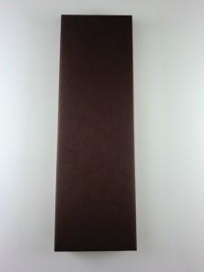 若狭塗箸 染分彫 こげ茶/赤 長さ 23cm/23cm 箱入り 日本製 ギフト プレゼントに