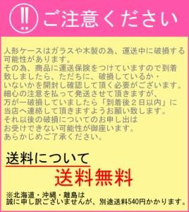 後開け式で人形の出し入れ簡単! 木製人形ケース 幅×横幅=20×16cm 高さ35・40cm バックの色 ワイン色・金色 日本製 送料無
