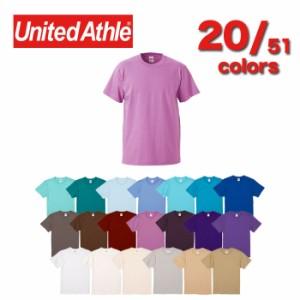United Athle ユナイテッドアスレ 500101 5.6オンス ハイクオリティー Tシャツ   51色 4サイズ 半袖 ユニセックス メンズ レディース ト