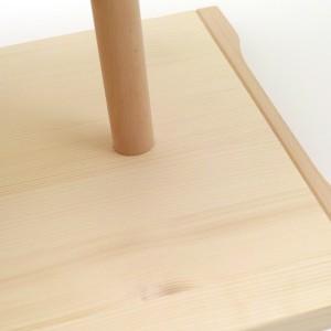 ウルムスツール リプロダクト 木製 デザイナーズ チェア スツール マックス・ビル バウハウス Ulm 送料無料