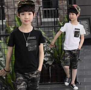 6b9700f5a1cdf 子供服 キッズ 2点セット 男の子 スポーツ 散歩 レジャー 子供 上下セット 短袖 半袖