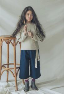 長袖トレーナー プルオーバー 春秋 レース ナチュラル 韓国 子ども服 秋 春 女の子 キッズ ジュニア100cm 110cm